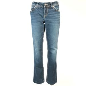 Silver suki Women mid baby boot Jeans 30x29 Blue